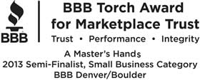 Semi-finalist for the BBB Torch Award