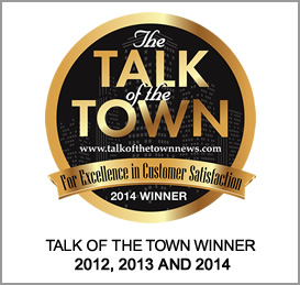 A Master's Hands wins 2014 Talk of the Town Customer Satisfaction Award