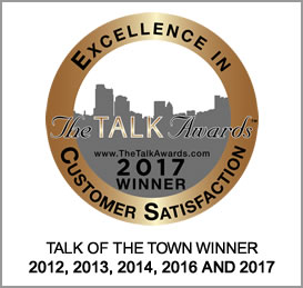 A Master's Hands wins 2017 Talk of the Town Customer Satisfaction Award