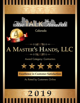 A Master's Hands wins 2019 Talk of the Town Customer Satisfaction Award